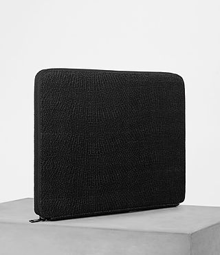 Herren Monument Suede Case (Black Suede) - product_image_alt_text_4
