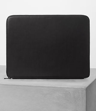 Uomo Monument Leather Case (Black)