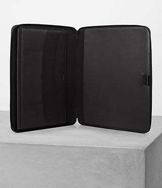 Men's Monument Leather Case (Black) - Image 3