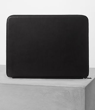 Uomo Monument Leather Case (Black) - product_image_alt_text_5