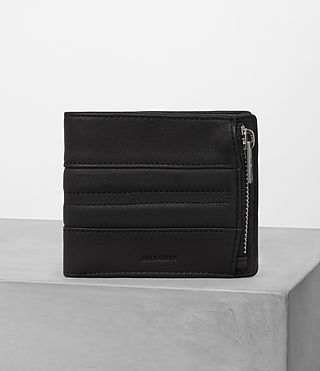 Hombre Havoc Biker Wallet (Washed Black)