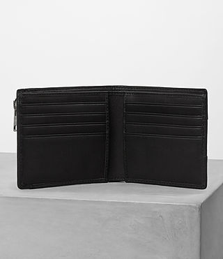 Uomo Havoc Biker Wallet (Washed Black) - product_image_alt_text_3