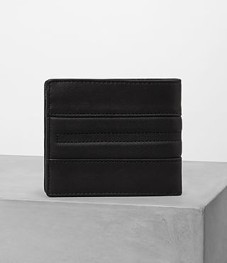 Uomo Havoc Biker Wallet (Washed Black) - product_image_alt_text_4