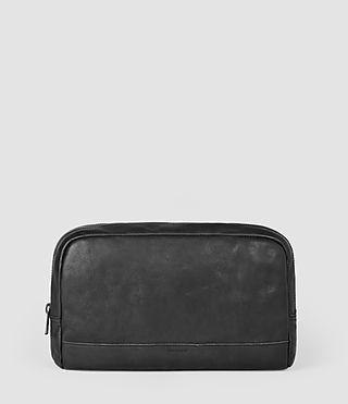 Mens Retract Wash Bag (Washed Black)