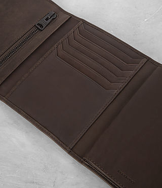 Hommes Detour Travel Wallet (Bitter Choc) - product_image_alt_text_2