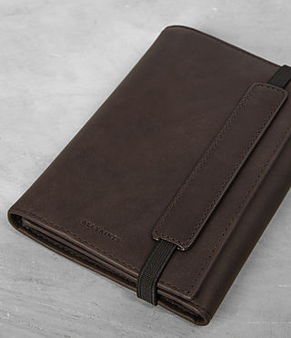 Mens Detour Travel Wallet (Bitter Choc) - product_image_alt_text_3