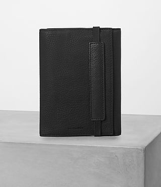Mens Detour Travel Wallet (Black) - product_image_alt_text_1
