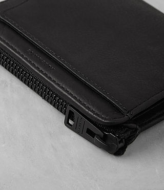 Hombre Cleat Wallet (Washed Black) - product_image_alt_text_2