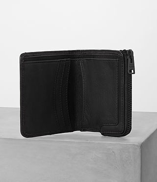 Hommes Cleat Wallet (Washed Black) - product_image_alt_text_3