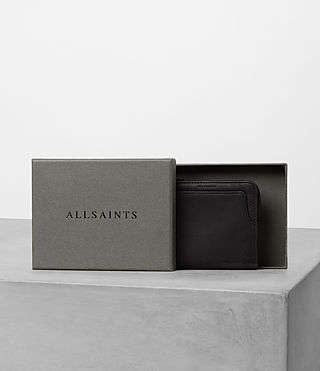 Hommes Cleat Wallet (Washed Black) - product_image_alt_text_5