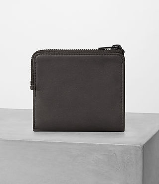 Mens Cleat Leather Wallet (Slate Grey) - product_image_alt_text_4