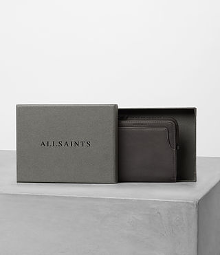 Mens Cleat Leather Wallet (Slate Grey) - product_image_alt_text_5