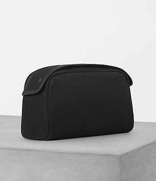 Hommes Minato Washbag (Black) - product_image_alt_text_3