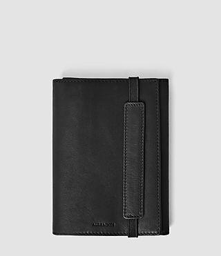 Mens Detour Travel Wallet (Washed Black)