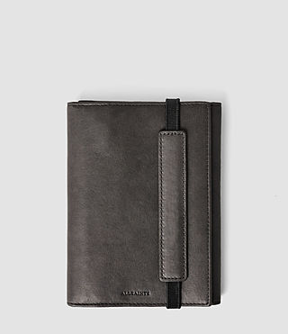 Herren Detour Travel Wallet (Slate Grey) -