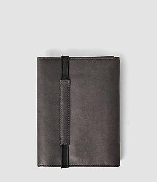 Hombre Detour Travel Wallet (Slate Grey) - product_image_alt_text_2