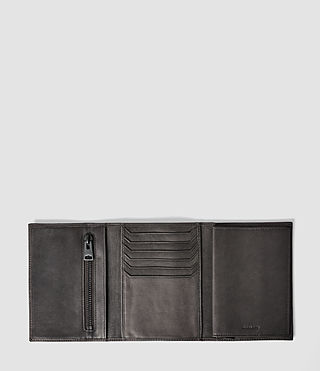 Uomo Detour Travel Wallet (Slate Grey) - product_image_alt_text_3