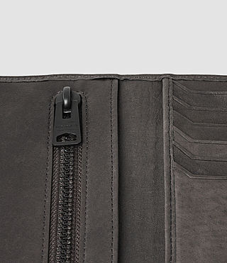 Hombre Detour Travel Wallet (Slate Grey) - product_image_alt_text_4