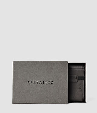 Mens Detour Travel Wallet (Slate Grey) - product_image_alt_text_6