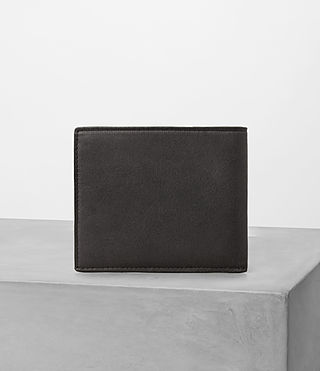 Mens Apex Leather Wallet (SLATE GREY/TAUPE) - product_image_alt_text_3