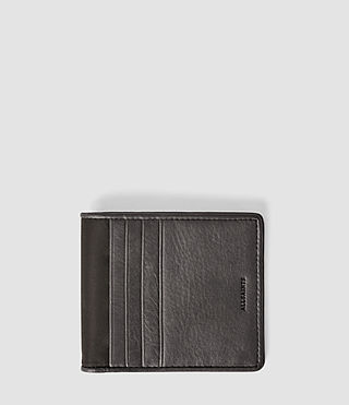 Hombres Cartera de nailon Hawk (Slate Grey)