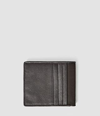 Hommes Nylon Hawk Wallet (Slate Grey) - product_image_alt_text_2
