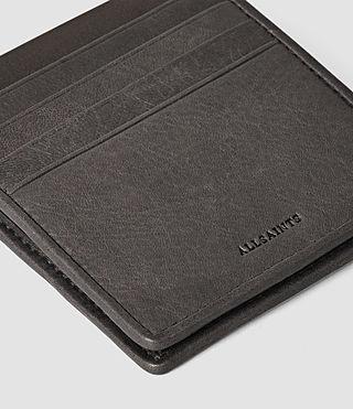 Hommes Nylon Hawk Wallet (Slate Grey) - product_image_alt_text_4