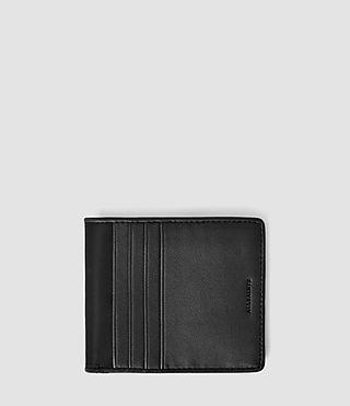 Mens Nylon Hawk Wallet (Jet Black)