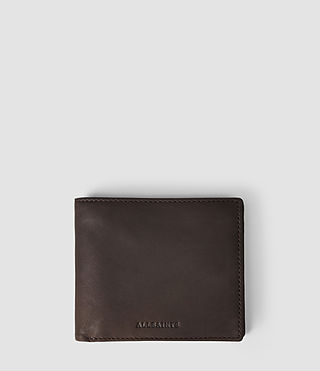Mens Blyth Leather Wallet (Choc)