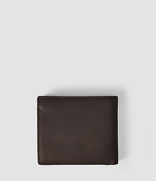 Mens Blyth Leather Wallet (Choc) - product_image_alt_text_2