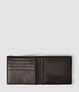 Mens Blyth Leather Wallet (Choc) - product_image_alt_text_3