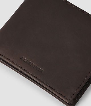 Mens Blyth Leather Wallet (Choc) - product_image_alt_text_4