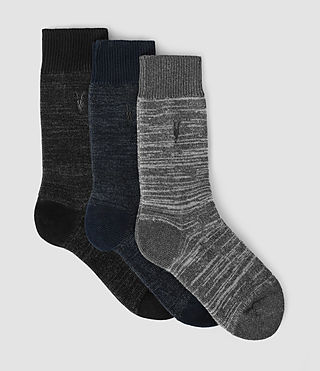 Mens Knotley Sock Pack (Multi)