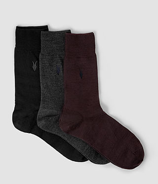 Men's Ramskull Sock Pack (Multi) -