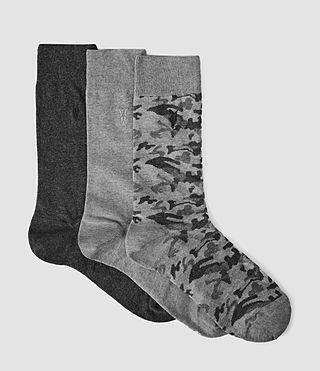 Mens Camo Sock Pack (Multi)