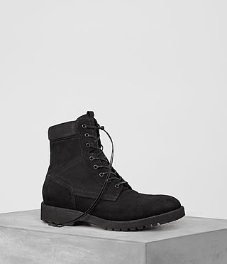 Mens Contact Boot (Black) - product_image_alt_text_1