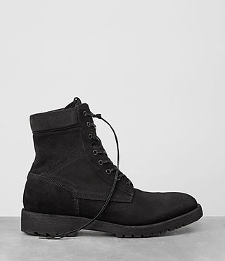 Mens Contact Boot (Black) - product_image_alt_text_4