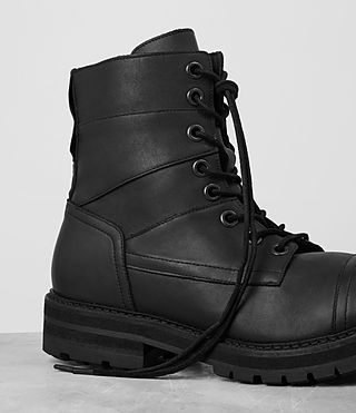 Uomo Decoy Boot (Black) - product_image_alt_text_2