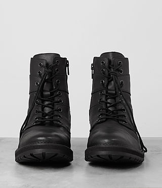Uomo Decoy Boot (Black) - product_image_alt_text_4