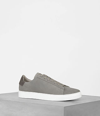 Mens Sol Low Top Sneaker (Steel Grey) - product_image_alt_text_1