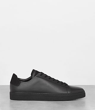 Uomo Sol Low Top Sneaker (Black) - product_image_alt_text_3