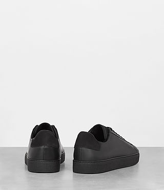 Uomo Sol Low Top Sneaker (Black) - product_image_alt_text_5