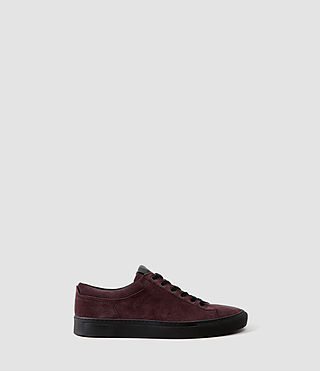 Mens Crescent Low Top (Oxblood)