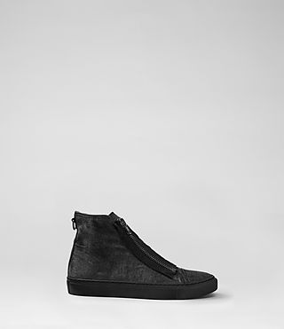 Mens Equip Hi-Top (Washed Black)