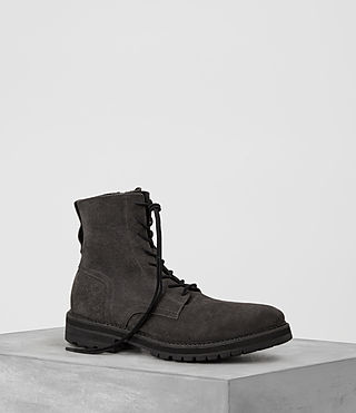 Mens Loft Suede Boot (Charcoal) - product_image_alt_text_1