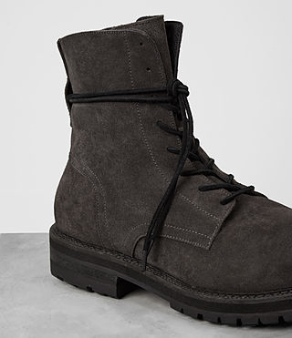 Mens Loft Suede Boot (Charcoal) - product_image_alt_text_2