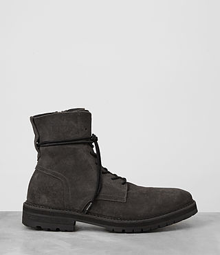 Mens Loft Suede Boot (Charcoal) - product_image_alt_text_4