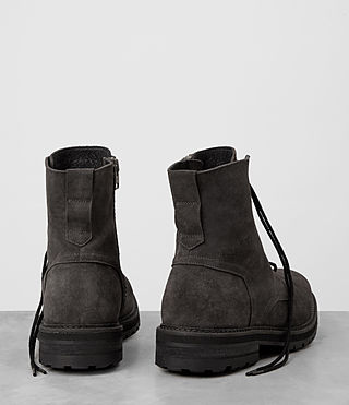 Mens Loft Suede Boot (Charcoal) - product_image_alt_text_5