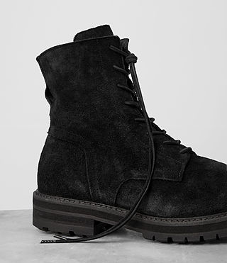 Mens Loft Suede Boot (Black) - product_image_alt_text_2