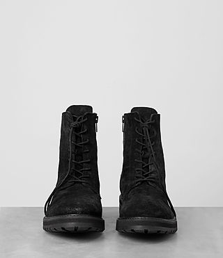 Mens Loft Suede Boot (Black) - product_image_alt_text_3